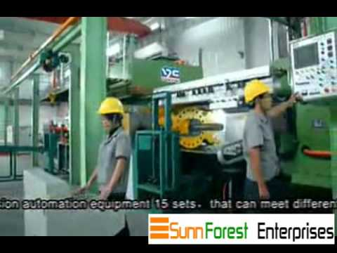 Sunnforest Magnesium Alloy Products and Application