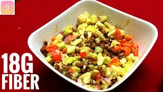 High Protein Indian Bodybuilding Meal - Vegetarian