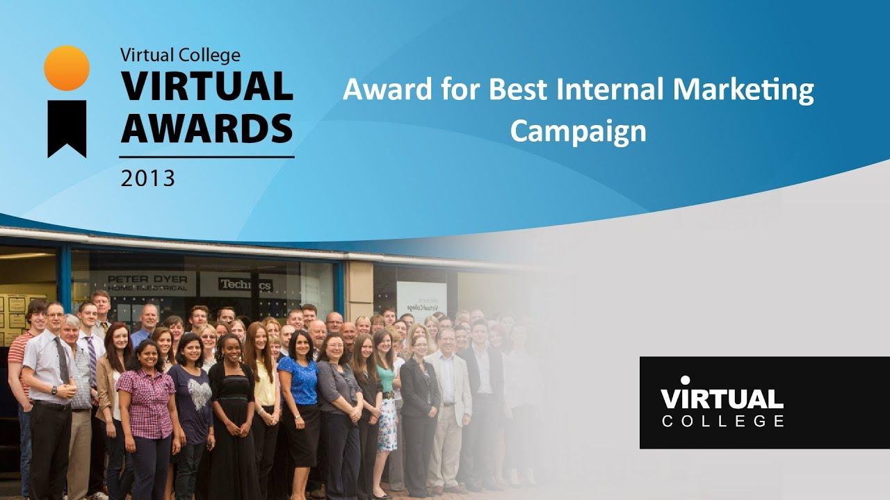 Virtual Awards 2013 - Best e-learning Internal Marketing ...