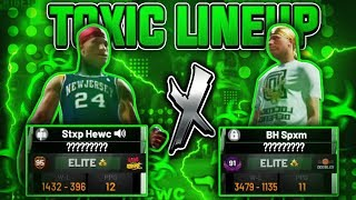 THE MOST TOXIC LINEUP in NBA 2K19...