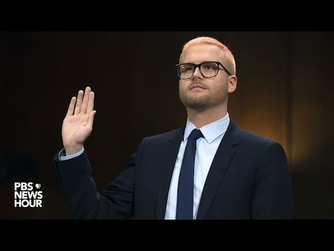 WATCH LIVE: Cambridge Analytica whistleblower Christopher Wylie testifies before Senate
