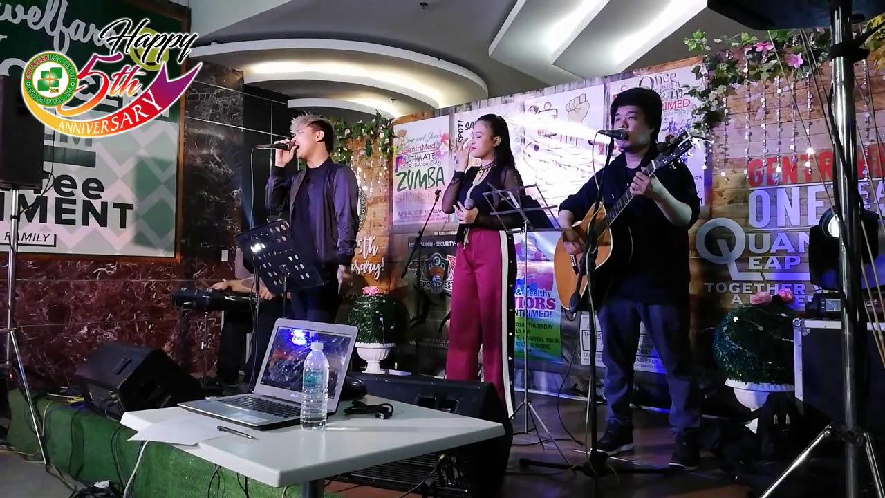 REFRAIN ACOUSTIC LIVE AT GENTRIMED- FOOLISH HEART- NEO DOMINGO