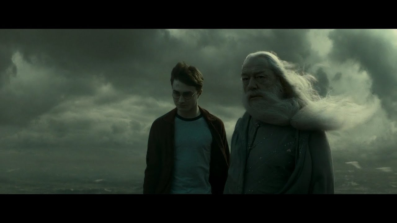 harry potter and the half-blood prince - journey to the cave scene