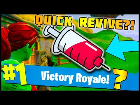 REVIVE YOUR TEAM MATES QUICKER?! Fortnite: Battle Royale - Future Suggestions