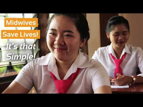 Lao Midwife Student