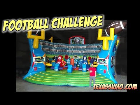 Football Challenge Game Rental - Dallas, Texas