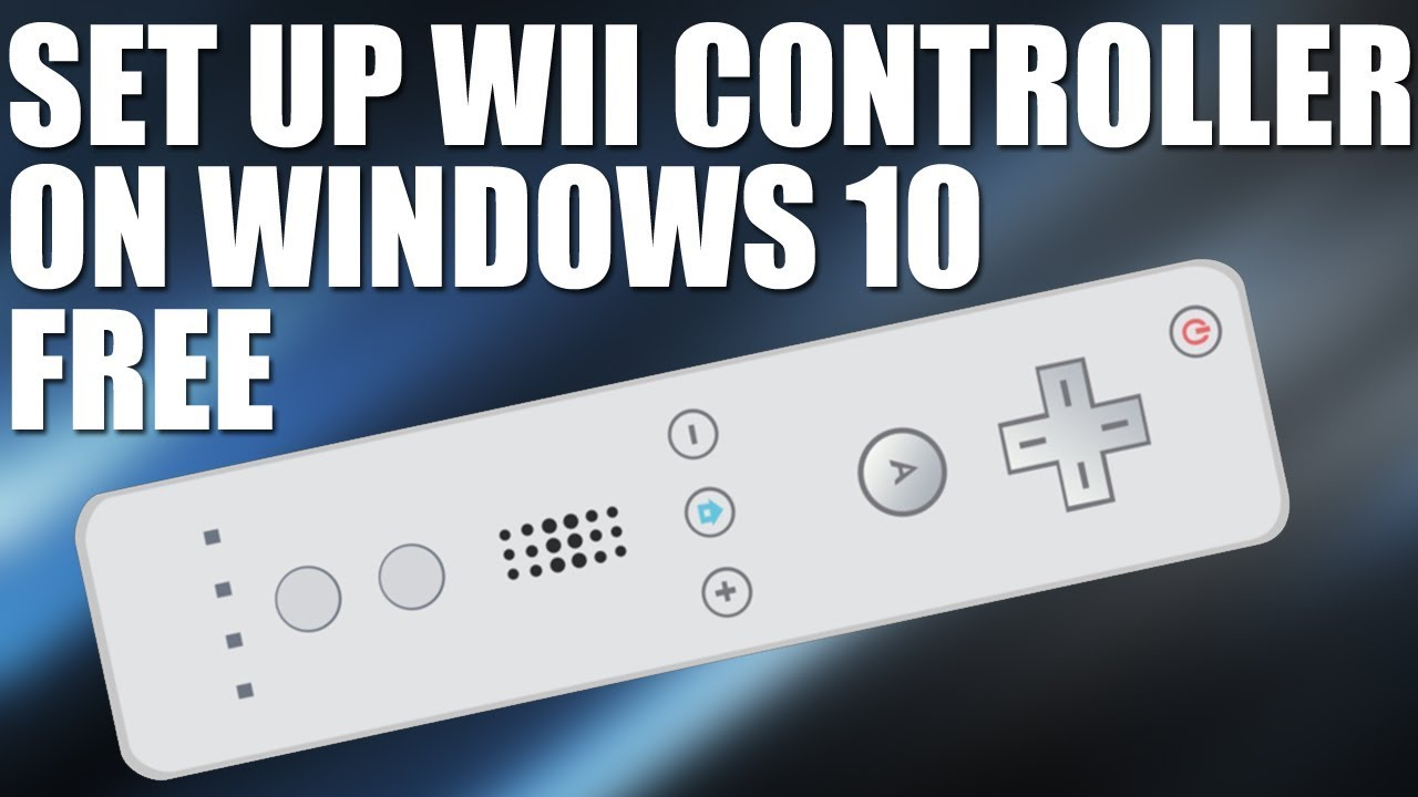How To Connect Wii Remote To Windows 10, 8 1 OR 7 - 2017 Connect Wiimote To  Your PC