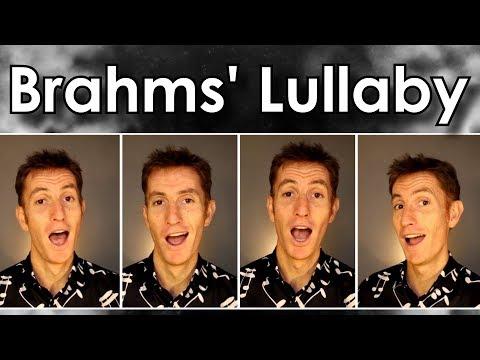 Brahms Lullaby (cradle song) - Barbershop Quartet - Julien Neel