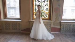 видео свадебное платье для полных невест