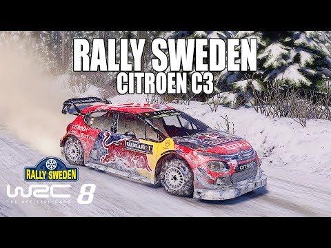 WRC 8 - Torsby Rally Sweden | Citroën C3 |