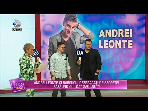 Teo Show (27.03.2018) - Andrei Leonte si Bursucu, la proba