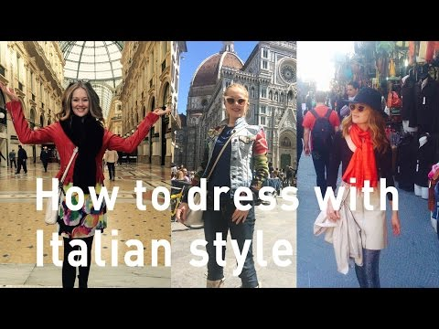 5 Tips to dressing with Italian style