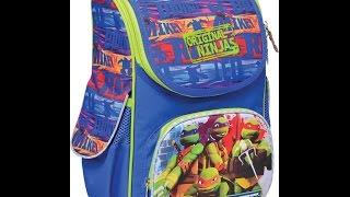 Видео обзор рюкзак школьный Turtles\Ниндзя черепашки 1 вересня 552739