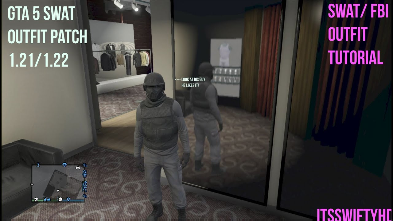 gta 5 swat outfit patch 121122 youtube