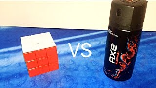 Axe in a 3x3!?!?! Will it lube?