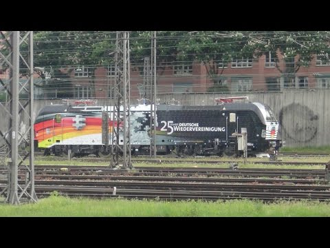 Trains and Sights around Munich Germany 5/14/2015