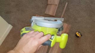 Try this easy cabinet sink floor board replacement first!!!