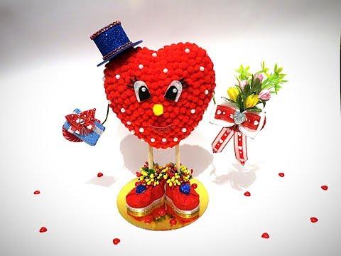 Валентинчик на день влюбленных | Mc от Noel |  Мк DIY | Valentinchik on the day of lovers - Видео приколы ржачные до слез