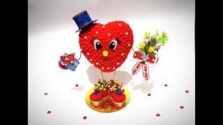Валентинчик на день влюбленных   Mc от Noel    Мк DIY   Valentinchik on the day of lovers