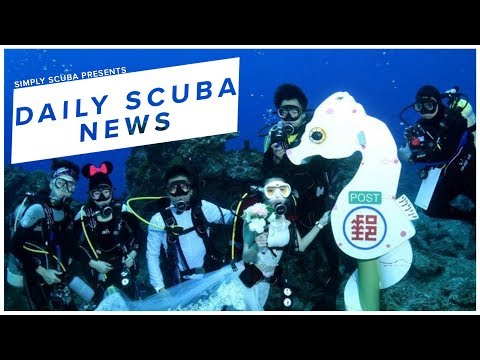 Daily Scuba News - World's Deepest Underwater Mail Box