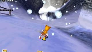 Sonic Adventure - Sonic Adventure Tails-Ice Cap - User video