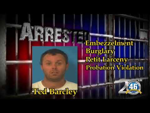 09/28/2017 Nye County Sheriff's Office Arrest | Barcley