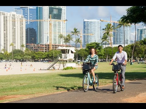 Clean Transportation:  BikeShare Hawaii - Lori McCarney
