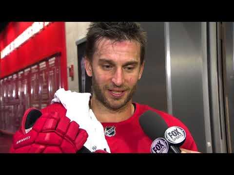 Red Wings LIVE: Frans Nielsen
