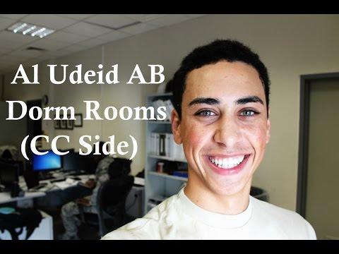 Al Udeid AB Dorm Rooms (CC Side)