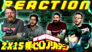 "My Hero Academia [English Dub] 2x15 REACTION!! ""Midoriya and Shigaraki"""