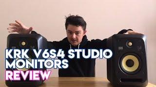 KRK V6S4 Studio Monitors Review