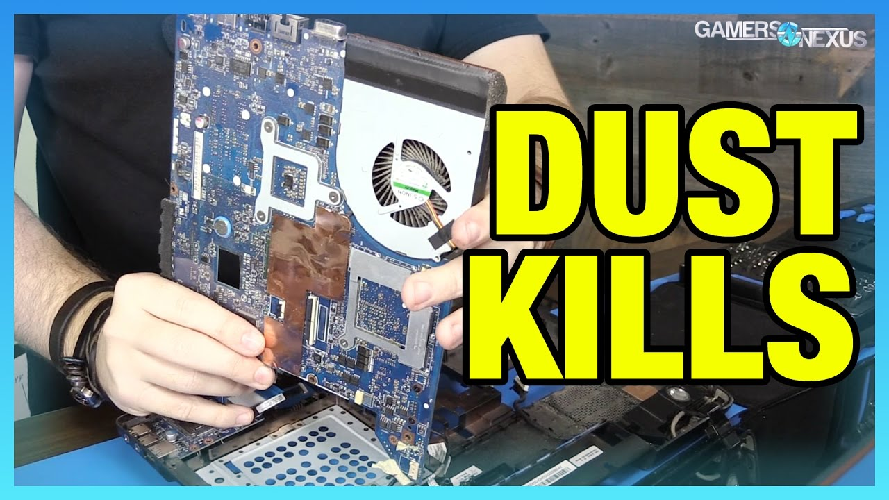 Laptop Overheating Fix - Reviving a Dusty Lenovo Y480