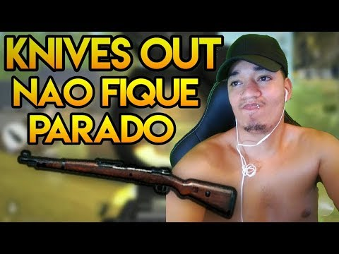 💀NAO FIQUE PARADO NO MODO SNIPER! KNIVES OUT BATTLEGROUND #44