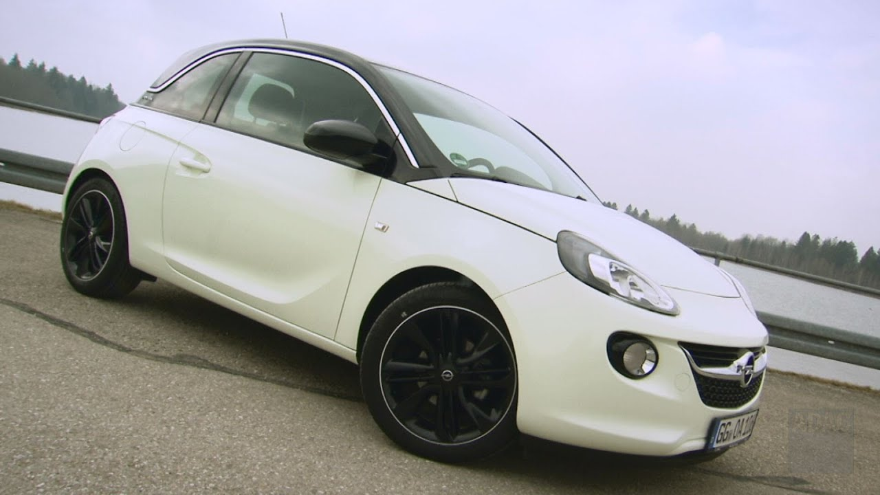 opel adam im test autotest 2013 adac youtube. Black Bedroom Furniture Sets. Home Design Ideas