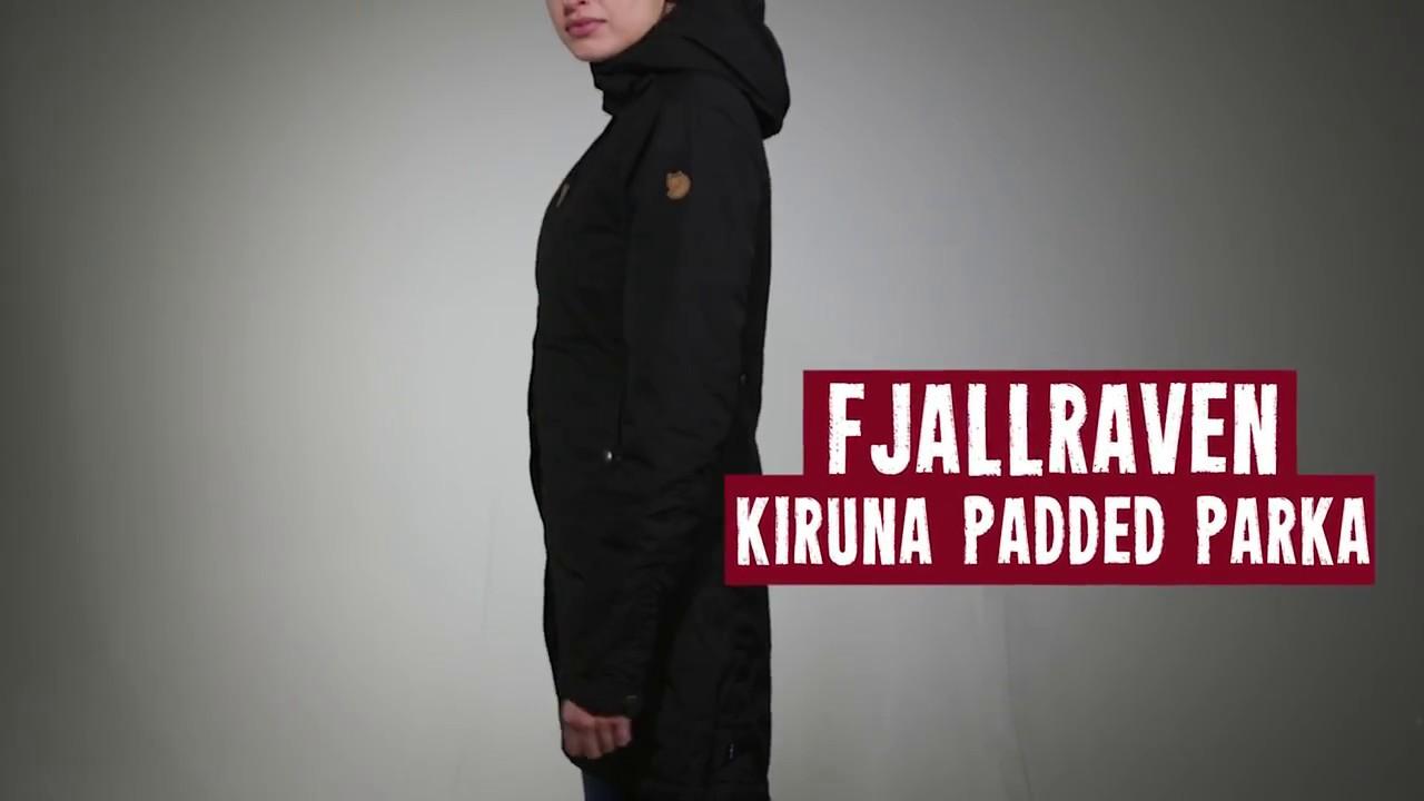 FJ/ÄLLR/ÄVEN Damen Kiruna Padded Parka