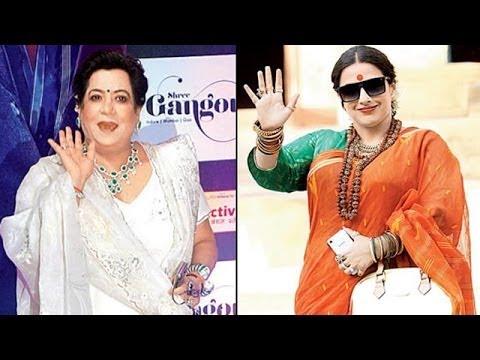 Vidya Balan Spoofs On Ekta Kapoor's Mother Shobha Kapoor