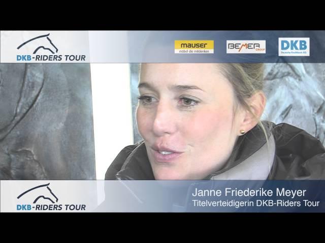 DKB Riders Tour 2016 - Janne Friederike Meyer - Vorfreude aufs Derby