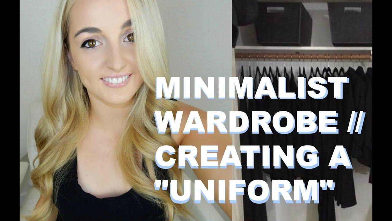"Minimalist Wardrobe Creating a ""Uniform"" People Who Wear the"