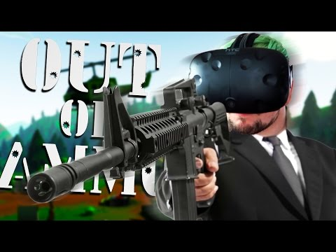JUSTICE RAINS FROM ABOVE | Out Of Ammo (HTC Vive Virtual Reality)