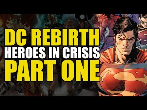 The Dying Starts (DC Comics: Heroes In Crisis Part 1)