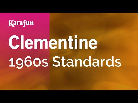 Karaoke Clementine - 1960s Standards *