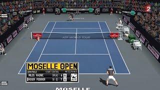 Raonic vs Federer | Metz DF Match chaudement disputé | Ép. 40 Tennis Elbow 2013