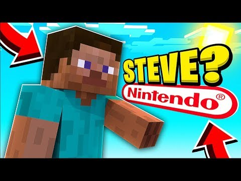 MINECRAFT STEVE IS NOW IN MINECRAFT SUPER SMASH BROTHERS ULTIMATE?
