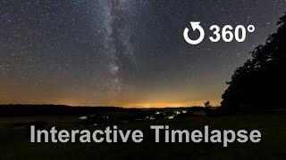 Interactiv 360 Degree Video of the Milky Way thumbnail