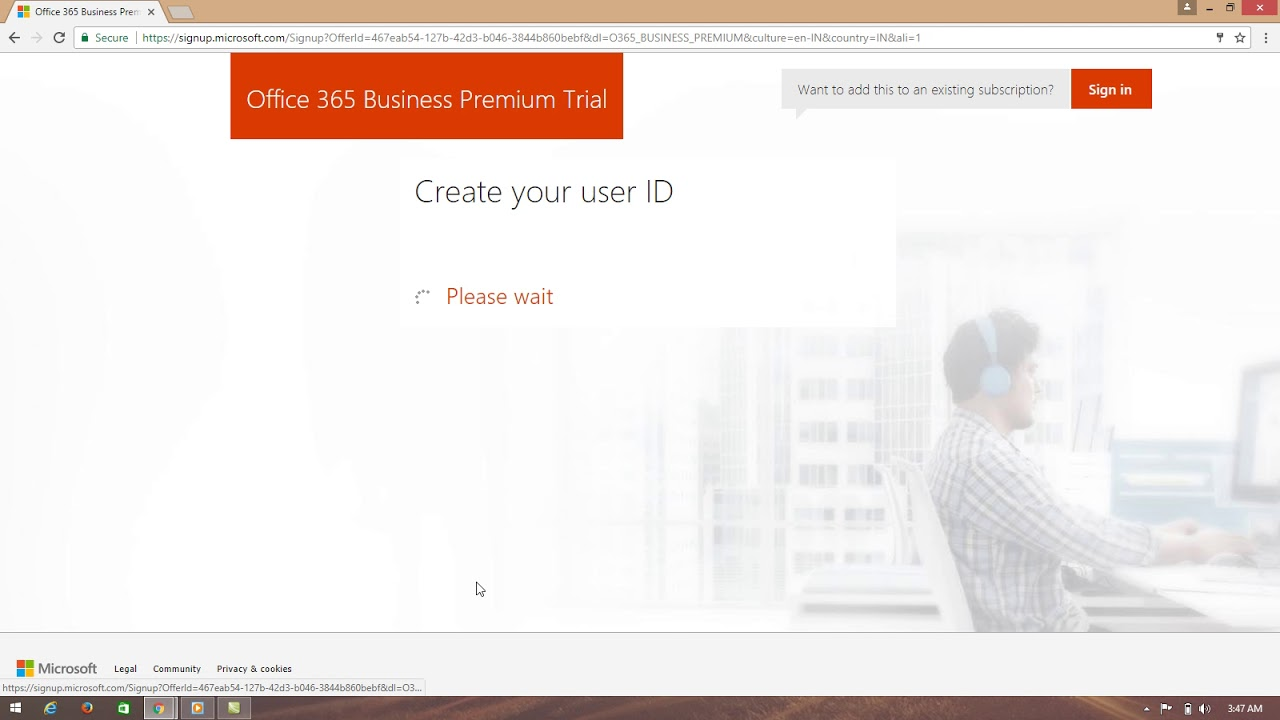 how to find office 365 account