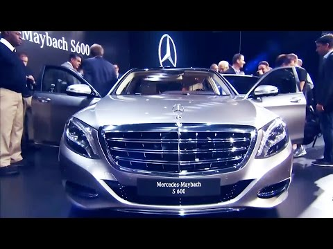 2016 Mercedes-Maybach S 600 World Premiere - Los Angeles