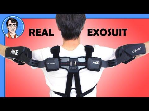 Testing A REAL Exoskeleton - The Comau MATE #Ad