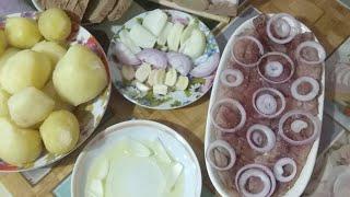 Селедка, Обед в воскресенье, Прямой Эфир, рецепты с селедкой, селедь