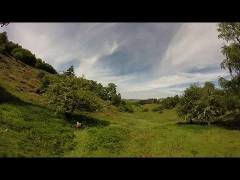 Headcam Orienteering - SinS - Brampton Bryan Brown Course Part 2 23 May 15