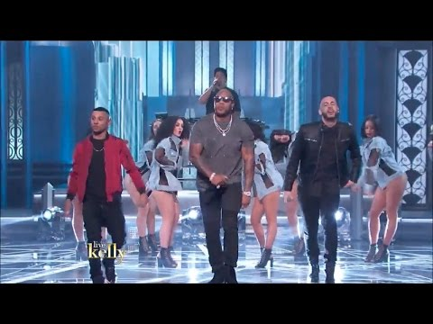 Flo Rida & 99 Percent - Cake (Live with Kelly) [After Oscar® Show]